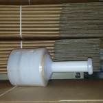 Bundling Film plus Dispenser 100mm x 300m x 25um .