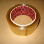 Packing Tape Clear Rubber Base 48mmx75m